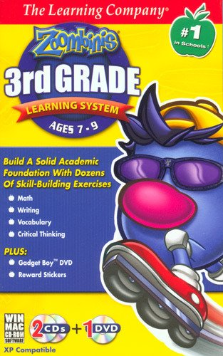 Zoombinis 3rd Grade Learning System Voulme 2 Age Rating:7-9