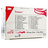 3M Health Care 1527-0 Surgical Tape, ½'' x 10 yd. Size, Clear (Pack of 240)