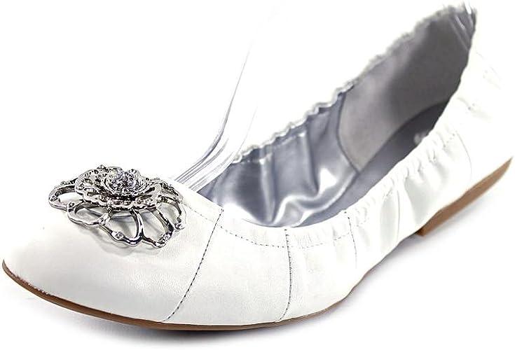 Leather Ballet Flats Shoes Size UK