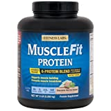 Fitness Labs MuscleFit Protein Blend (5 Pound, Chocolate Mint Ice Cream) For Sale