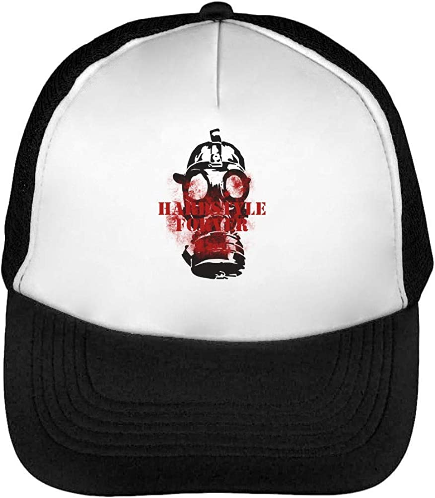 Hardstyle Mask Party Hardcore Mens Baseball Trucker Cap Hat ...