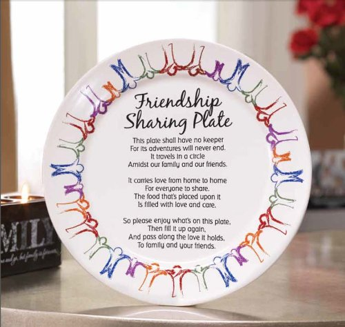 Friendship Sharing Plate Buy Online In Uae Home