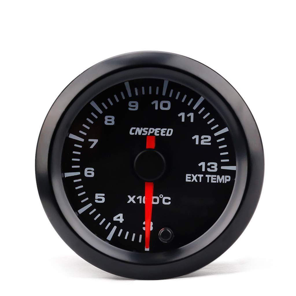 kesoto Auto Motore 2 Pollici 52mm Universale Manometro LED Digitale Gas di Scarico Auto Accessori