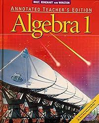 Algebra 1: Annotated Teacher's Edition