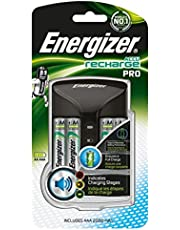 Batterie + Ricarica Batterie Per Aa, Aaa, Nimh 4X Aa Hr6 2000 Mah (4 Pz)