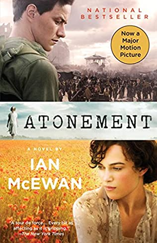 book cover of Atonement