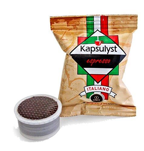 Coffee Capsules Pick Serve Italian Blend - Kosher Certificate Espresso Pods By Kapsulyst