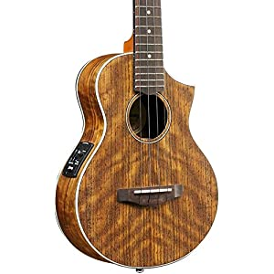 Ibanez, 4-String Ukulele, Right, Open Pore Natural (UEWT14E) 51hYtelY1iL
