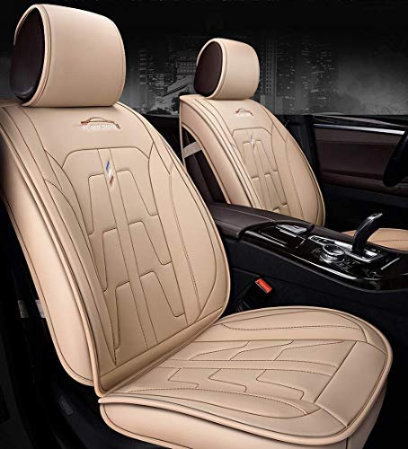 IMBM Complete Set with 5 Leather Seats Universal Compatible Airbag for Year-round Use Comfortable Automotive Front and Back Seat Protectors sweat absorption (Color : D, Size : Standard Edition):