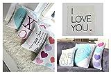 Valentines Day Covers Pillowcases Throw Pillows Sofa Bedding Home Decor Cushion Cover (17X17 ARROWS), Personalized Valentines Pillow Cover, Personalized Throw Pillow Cover, Heart Decorative Pillows