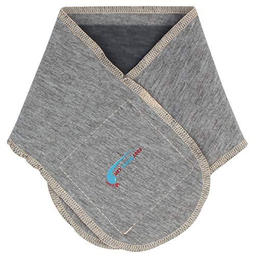 (Moisturizing Neck Wrap - Neck Firming Cream - Neck Tightening Wrap - Premium Wrinkle Treatment - Cotton & Gel Turkey Neck Scarf (Gray))