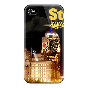 Hot Tpu Cover Case For Iphone/ 4/4s Case Cover Skin - Pittsburgh Steelers
