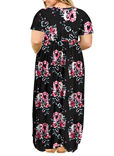 Buy plus size sun dresses for women casual 4x