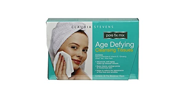 Claudia Stevens Age Defying Deep Cleansing Tissues Gal Pal Exfoliating Facial Brush, Black