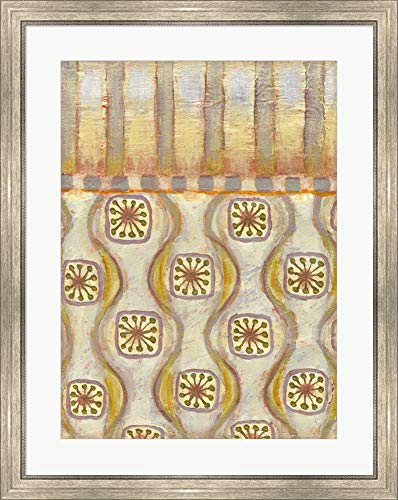 Sterling Copper 14 by Rachel Paxton Framed Art Print Wall Picture, Silver Scoop Frame, 28 x 35 inches