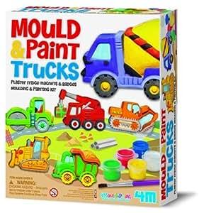 Fridge Magnets & Pins Making Kit—Trucks