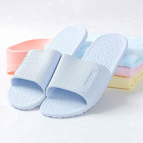 Indoor Bathroom Shower Sandals R Blue FREAHAP Outdoor Unisex Slippers nY7x6qvZW