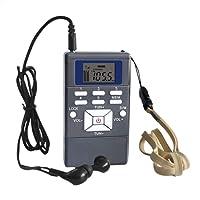 AIHOME Portable Mini Compact AM FM Stereo Radio Shortwave Radio Small Pocket Radio for Walk for Walking/Running
