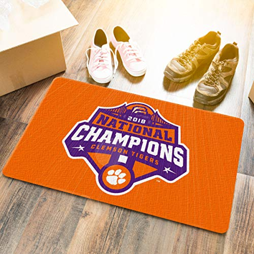 Clemson Tigers 2018 College Football National Champions Door Mat