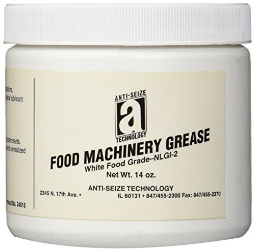 ANTI-SEIZE TECHNOLOGY 24016 Food Machinery Grease, Aluminum Complex, 14 oz Can, - Grease Food