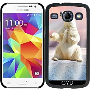 Funda para Samsung Galaxy Core i8260/i8262 - Oso Polar De Hielo Frío Animal by WonderfulDreamPicture