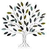 Stratton Home Decor SHD0128 Tree Wall Decor, 36.00 W X 1.75 D X 33.00 H, Multi