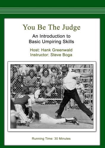 You Be the Judge: An Introduction to Basic Umpiring - Hamleys.com