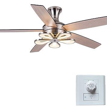 65W Deckenventilator LED Licht mit Fernbedienung Beleuchtung Lüfter Lampe 52Zoll