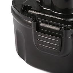 Powerextra 2 Pack 7.2V Battery for Dewalt DE9057 DE9085 DW9057 DW920K DW920K2 DW925K DW925K2 DW968K DC Series DW Series