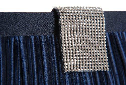 Vivid Handbags, Poschette giorno donna Blu Blu One Size