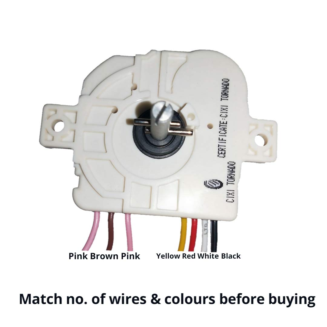 [SCHEMATICS_48DE]  doctorspare Washing Machine Timer for Whirlpool, 7 wire/15 Minutes, (Match  Wire Colour & Buy): Amazon.in: Home & Kitchen | Wiring Diagram Of Washing Machine Timer |  | Amazon.in