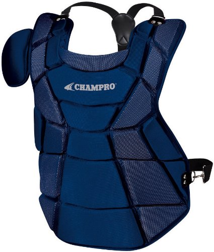 Champro Major League Chest Protector (Navy, 17.5-Inch Length)