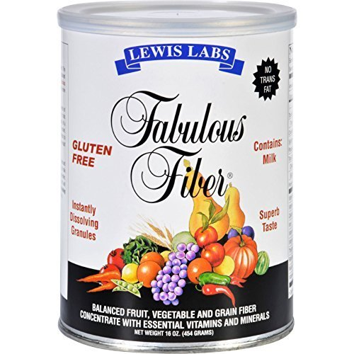 Lewis Labs - Fabulous Fiber?«, 16 oz ( Multi-Pack)