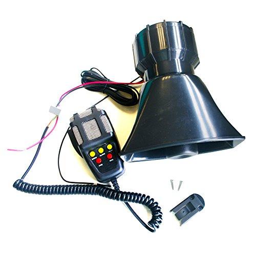 CBK 100W 12V 5 Sound Police Fire Loud Speaker PA Siren Horn Emergency Sound Amplifier MIC System Kit For Car Truck Alarm