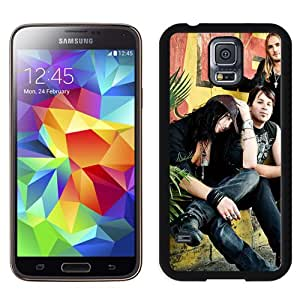 Beautiful Designed Cover Case With April Divine Street Daylight Band Wall For Samsung Galaxy S5 I9600 G900a G900v G900p G900t G900w Phone Case