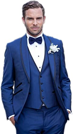 MLT Boys 2 Pieces Custom Made Party Prom Wedding Suit Set