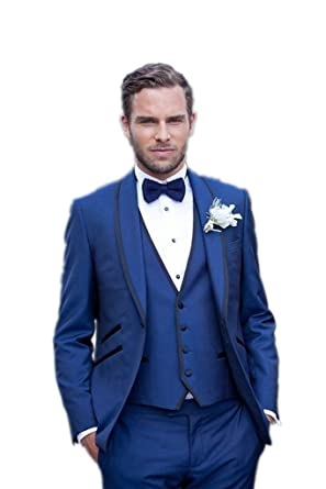 Blue Bridegroom Dresses