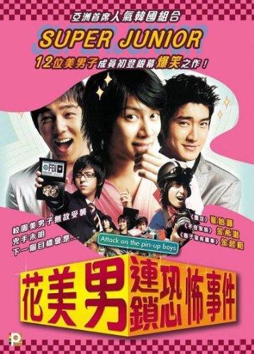Attack on the Pin-up Boys DVD (Region 3) (English Subtitled) Korean
