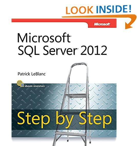 Sql server 2012 amazon microsoft sql server 2012 step by step step by step developer fandeluxe Image collections
