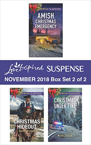 Harlequin Love Inspired Suspense November 2018 - Box Set 2 of 2: Amish Christmas Emergency\Christmas Hideout\Christmas Under Fire