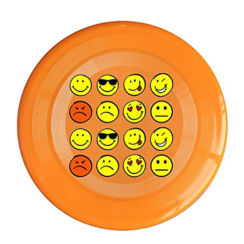 Tired Student Costume (Flying Sport Disc Emoji Collage 150g Ultimate Frisbees One Size)