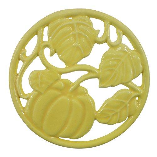 ROYAL KASITE Cast Iron Pumpkin Trivet,5.5-inch (Cast Iron Pumpkin)