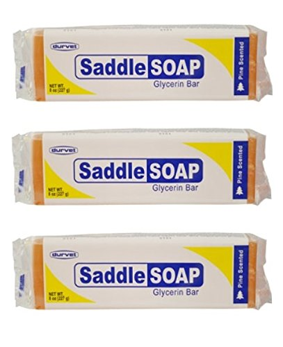(Pack of 3) Saddle Soap Glycerin Bar for ()
