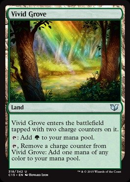 Magic: the Gathering - Vivid Grove (318/342) - Commander 2015