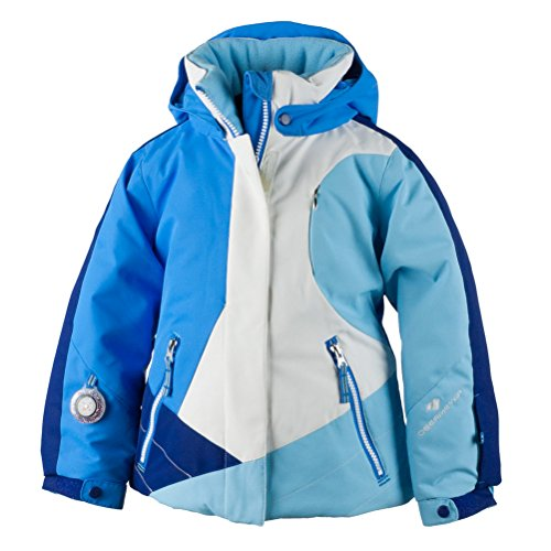 Toddler Jackets Shop - Obermeyer Kids Baby Girl's Trina Jacket (Toddler/Little Kids/Big Kids) White 6