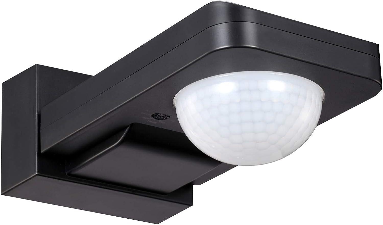 Interruptor de pared o techo con sensor de movimiento PIR para exteriores UKEW IP65, 360/°, con anulaci/ón manual
