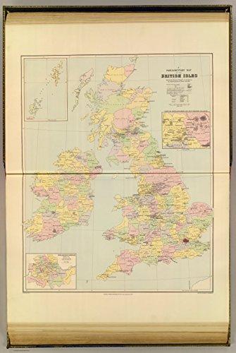 Map Poster - Parliamentary map, British Isles