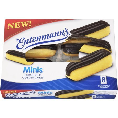 Entenmann's Mini Fudge Iced Golden Cake