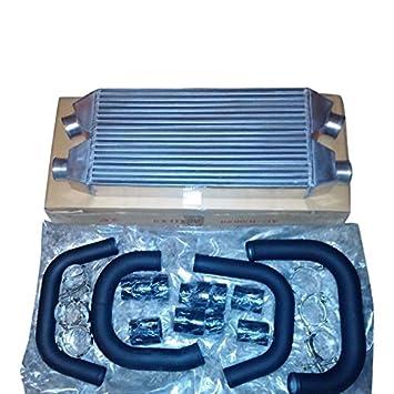 xs-power Allroad, A6 C5 Dual Core FMIC para Audi S4 B5 2.7L Bi-Turbo 99 - 05 negro Piping: Amazon.es: Coche y moto