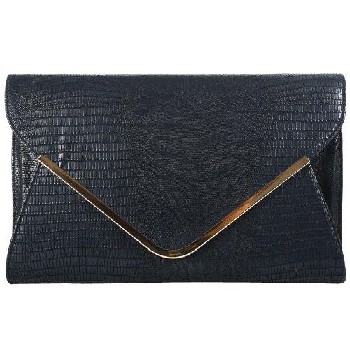 Girly Handbags - Sac à main / Pochette - Noir bleu - noir foncé